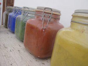 Les pigments naturels